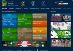 Betfred Poker Screenshot