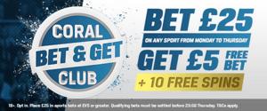 Coral Bet & Get Club