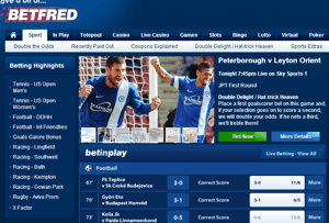 Betfred Football Screenshot