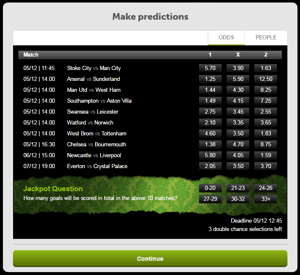 ComeOn Footcast Coupon