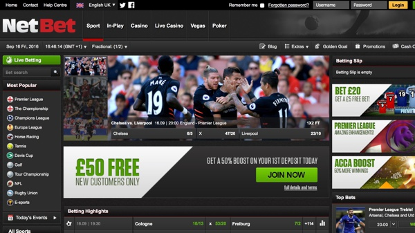 Net Bet Sports Screenshot