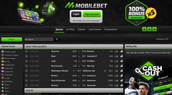 Mobilbet Sports Screenshot