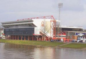 Nottingham Forest's City Ground Football Stadium