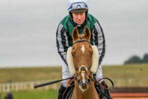 Jockey on Racehorse