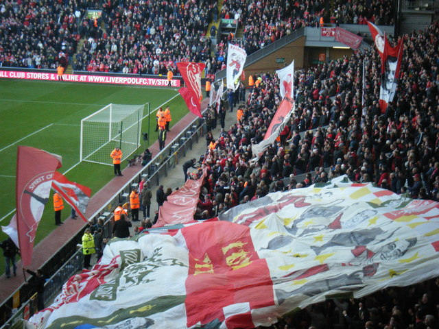 Liverpool Fans at Anfield
