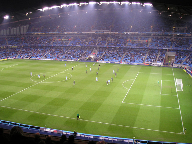 Manchester City Playing Evening Game at the Etihad Stadium