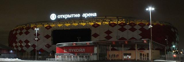 Spartak Moscow Otkritie Arena