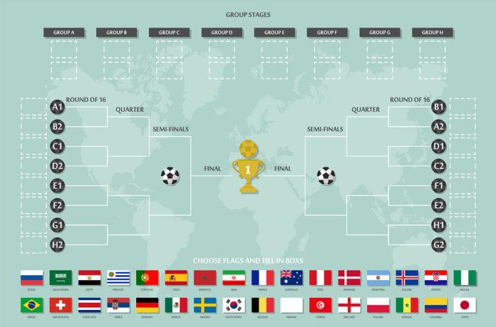 Football Tournament Blank Match Schedule