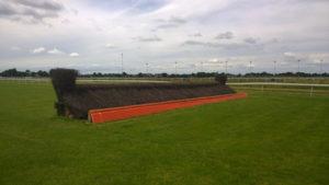 Kempton Park Jump Racing Fence