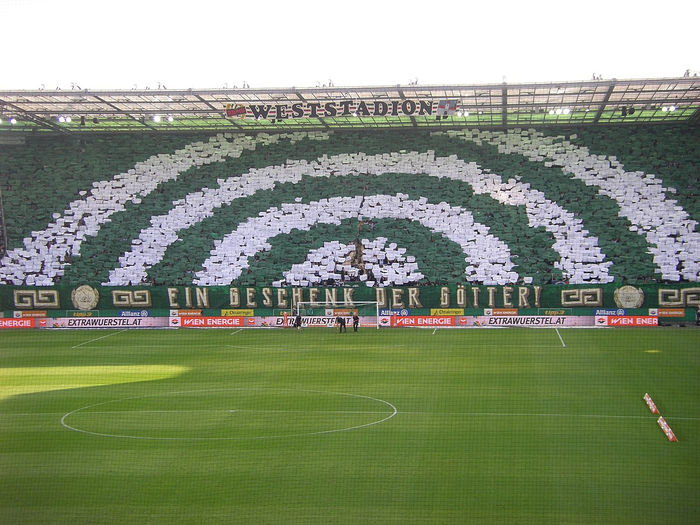 Rapid Vienna Football Fans