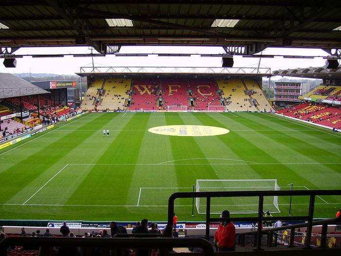 Watford FC's Vicarage Road Stadium