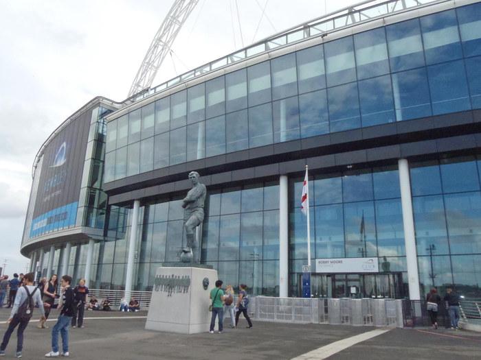 Wembley Stadium Bobby Moore Entrance