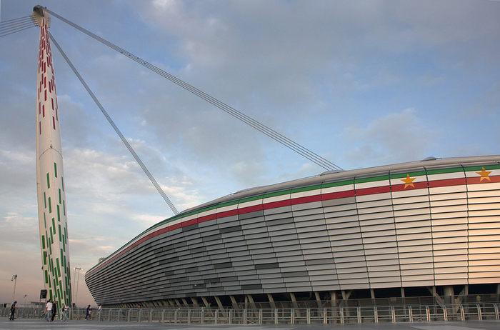 Juventus Football Stadium Exterior