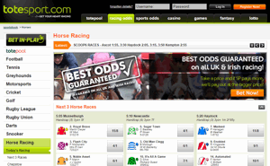 Totesport Horse Racing Screnshot