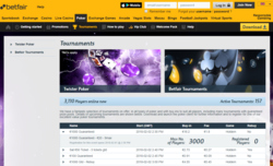 Betfair Poker Screenshot