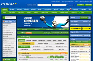 Coral Football Betting