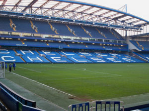 Chelsea FC's Stamford Bridge Football Stadium