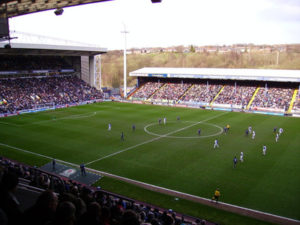 Football Match at Ewood Park