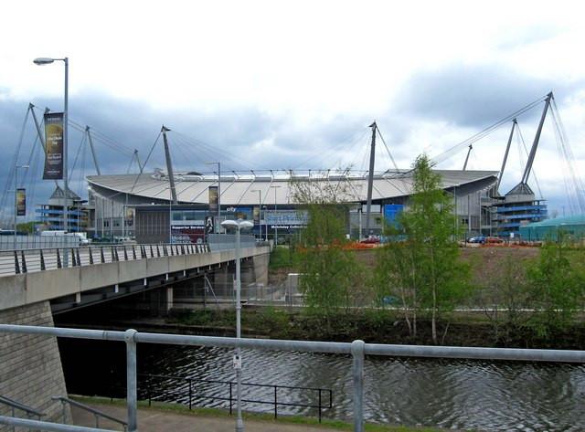 Etihad Stadium in Manchester