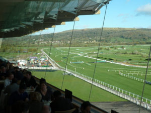 View of Cheltenham Racecourse from Grandstand