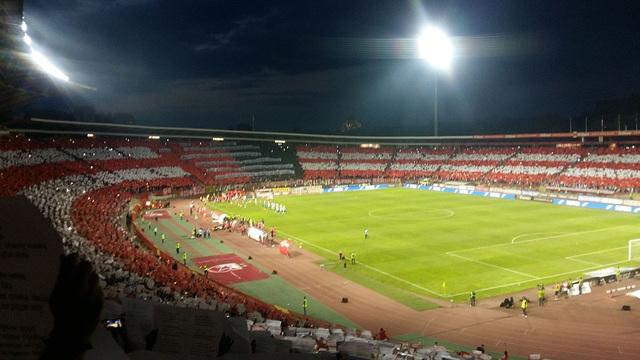 Red Star Belgrade Rajko Mitic Stadium