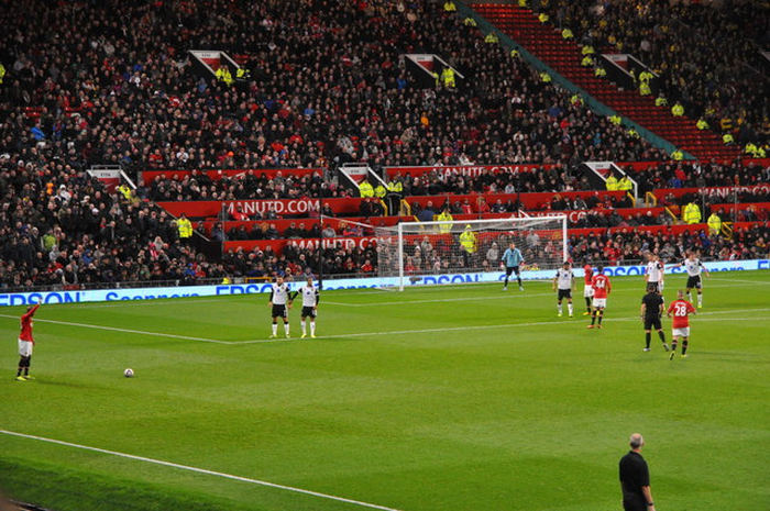 Manchester United Match at Old Trafford