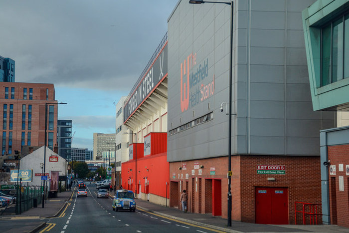 Sheffield United Bramall Lane Exterior