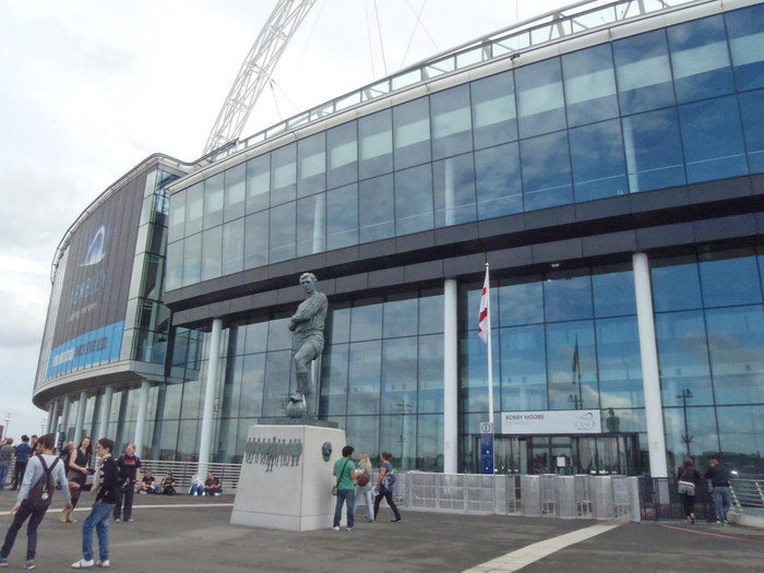 Wembley Stadium Bobby Moore Entrance