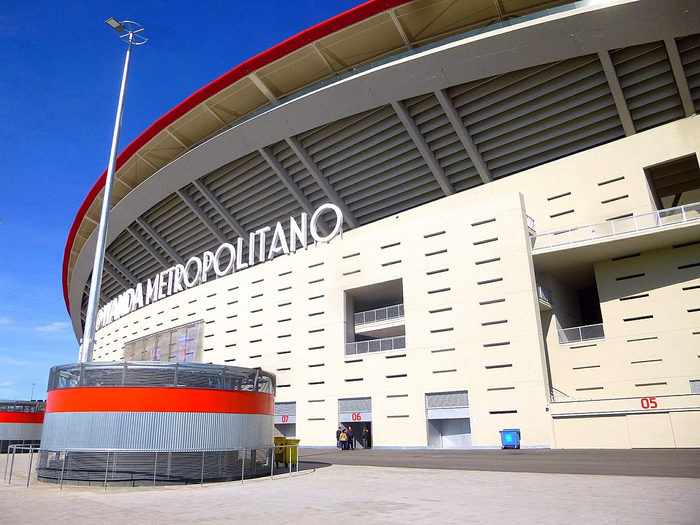 Atletico Madrid Estadio Wanda Metropolitano