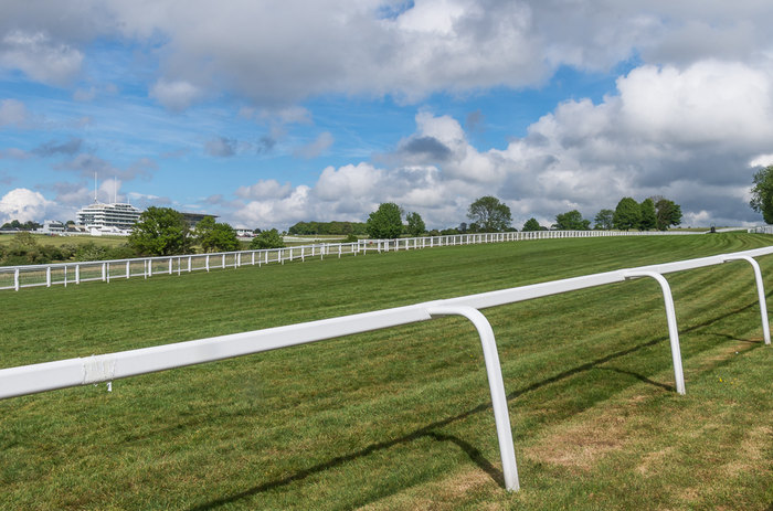 Epsom Racecourse and Queen's Stand