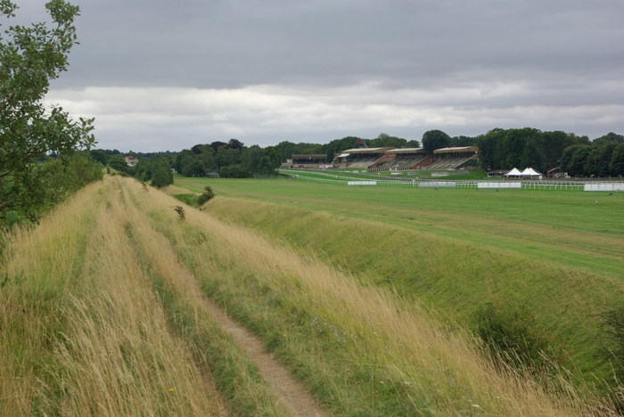 Newmarket July Course from Devil's Dyke