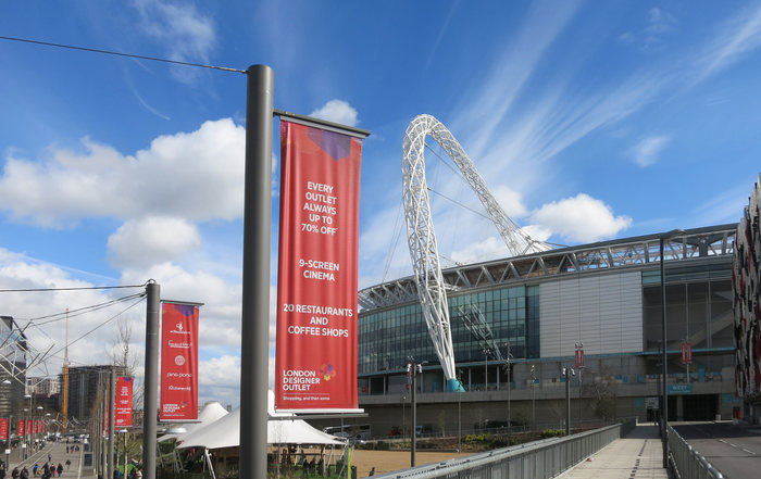 Wembley Stadium Walkway