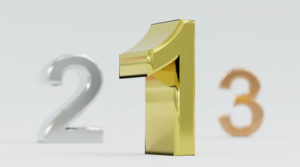 123 Gold, Silver and Bronze Numbers