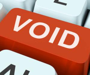 Void Keyboard Button