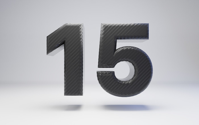 Carbon Fibre Number 15