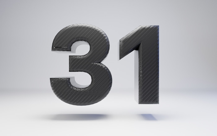Carbon Fibre Number 31