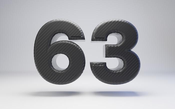 Carbon Fibre Number 63