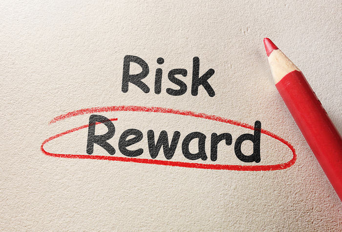 Risk and Reward Circled in Red