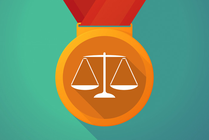Scales of Justice Medal