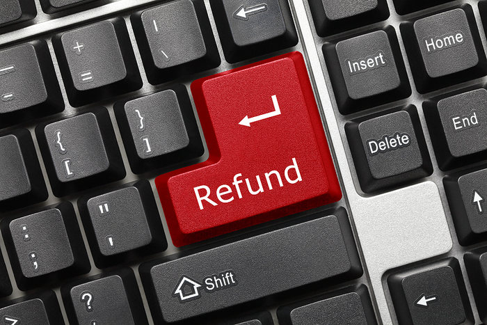 Refund Keyboard Button