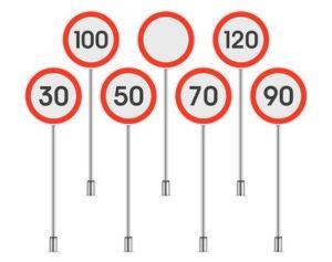 Traffic Limit Signs