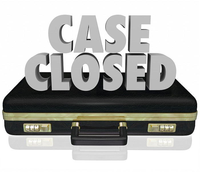 Case Closed Briefcase
