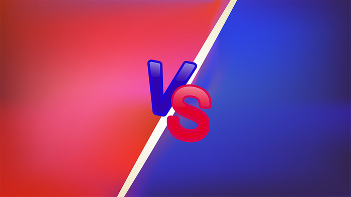 Red and Blue Versus