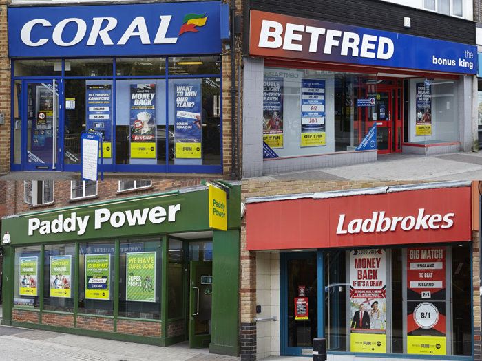 High Street Bookmakers