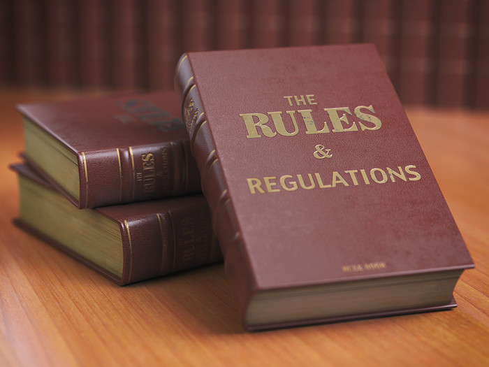 Rules and Regulations Books