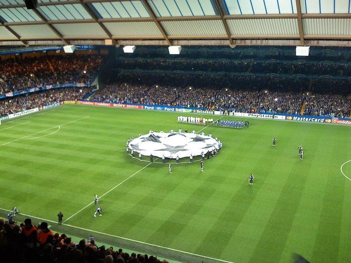 Stamford Bridge Champions League Banner
