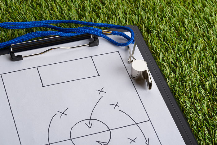 Football Tactics on Clipboard