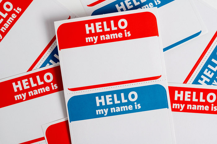 Name Badge Stickers