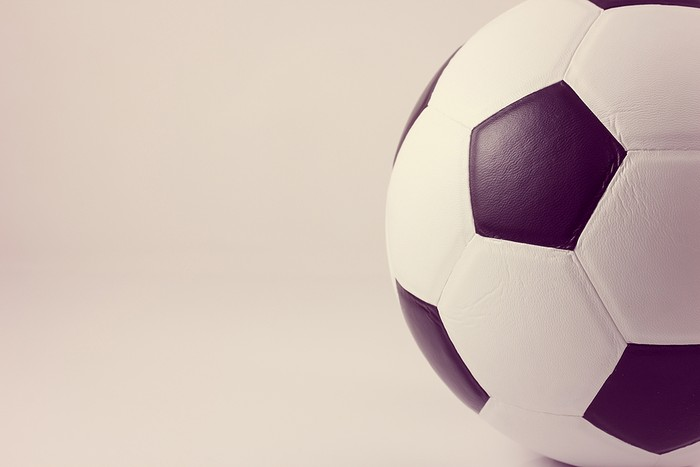 Black and White Panelled Football