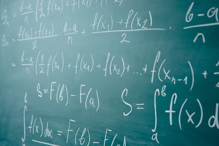 Algebra on Green Chalkboard